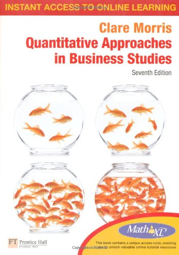 9780273739418: Quantitative Approaches in Business Studies