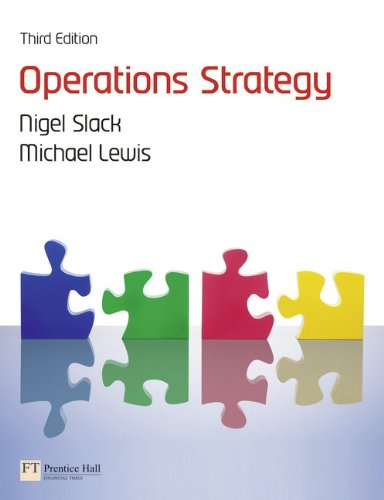 9780273740445: Operations Strategy