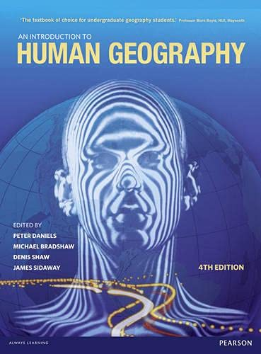 9780273740704: An Introduction to Human Geography