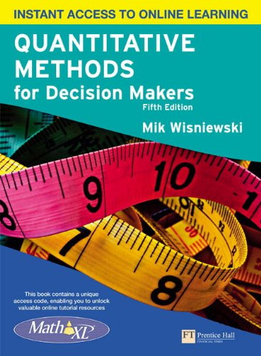 9780273742661: Quantitative Methods for Decision Makers with MyMathLab Global
