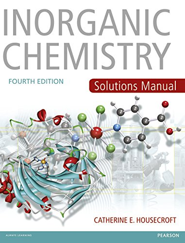 9780273742760: Inorganic Chemistry Solutions Manual