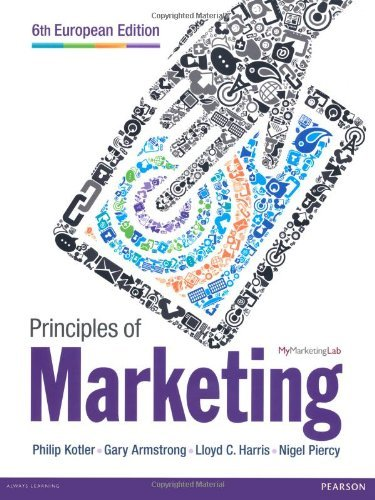 Principles of Marketing: Kotler, Philip