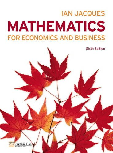 9780273743293: Mathematics for Economics and Business Plus MyMathLab Global Student Access Card (Pack)