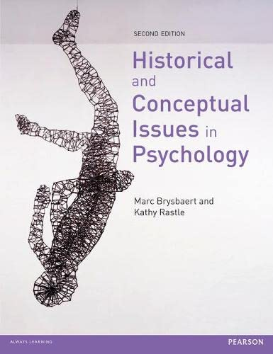 Historical and Conceptual Issues in Psychology: Brysbaert, Marc