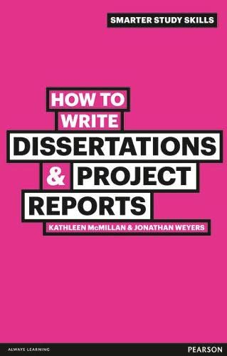 9780273743835: How to Write Dissertations & Project Reports