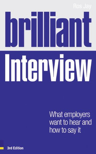 9780273743934: Brilliant Interview (3rd Edition)