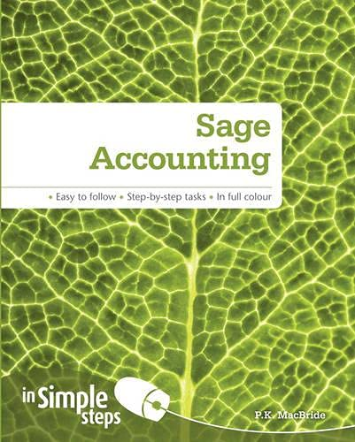 9780273745570: Sage Accounting In Simple Steps