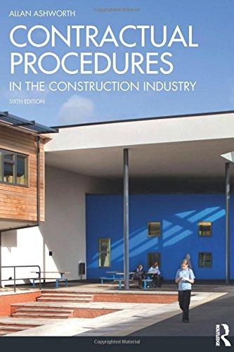 9780273745600: Contractual Procedures in the Construction Industry