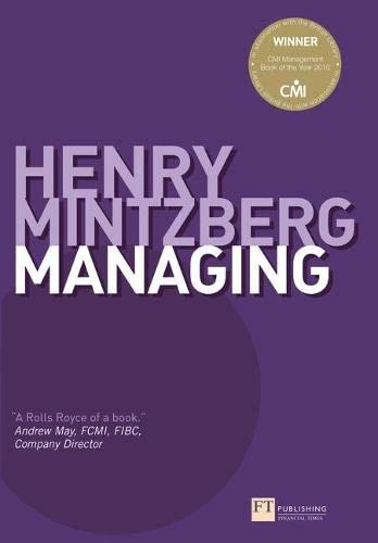 9780273745624: Managing (Financial Times Series)