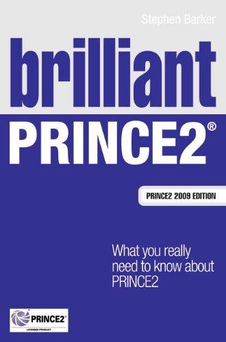 9780273750536: Brilliant PRINCE2