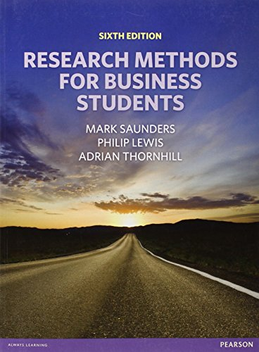 9780273750758: Research Methods for Business Students