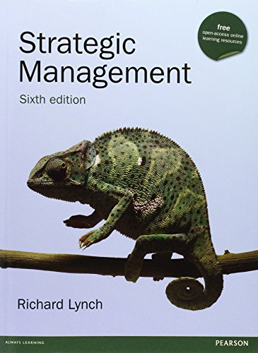 9780273750925: Strategic Management