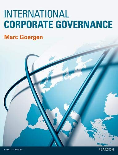 9780273751250: International Corporate Governance