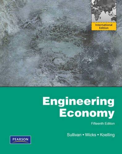 Engineering Economy: NA