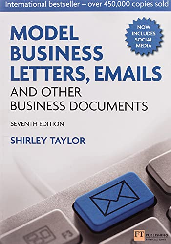 9780273751939: Model Business Letters, Emails and Other Business Documents