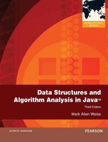 9780273752110: Data Structures and Algorithm Analysis in Java: International Edition