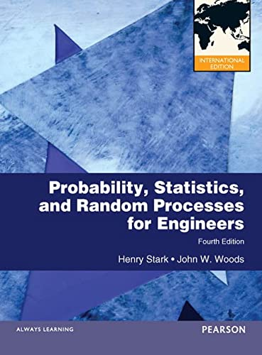 9780273752288: Probability and Random Processes with Applications to Signal Processing: International Edition