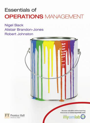 9780273752424: Essentials of Operations Management