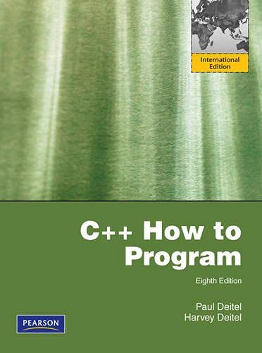 9780273752769: C++ How to Program