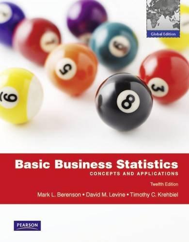9780273753186: Basic Business Statistics Global Edition