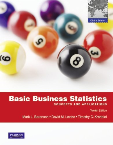 9780273753278: Basic Business Statistics with MyMathLab