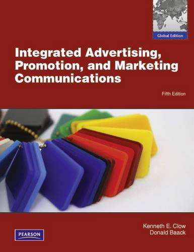 9780273753285: Integrated Advertising, Promotion and Marketing Communications