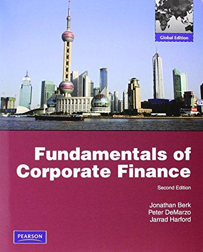 9780273753551: Fundamentals of Corporate Finance. Jonathan Berk, Peter Demarzo, Jarrad Harford