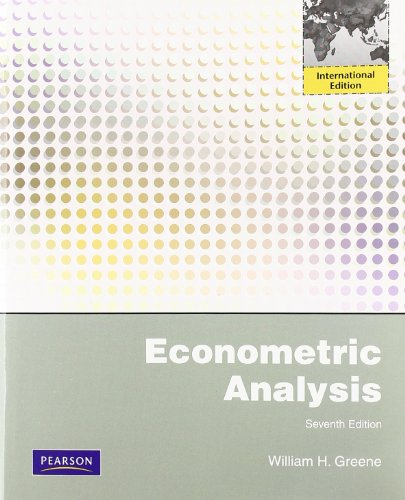 9780273753568: Econometric Analysis : Global ed. 7