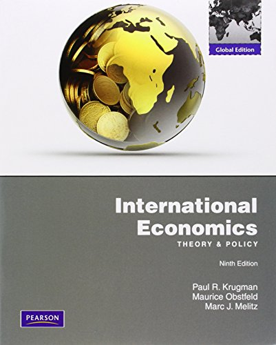 9780273754206: International Economics: Theory & Policy: Global Edition