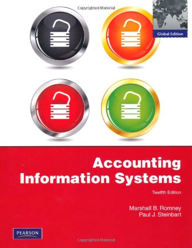 9780273754374: Accounting Information Systems