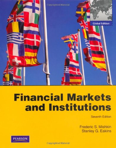 9780273754442: Financial Markets and Institutions: Global Edition