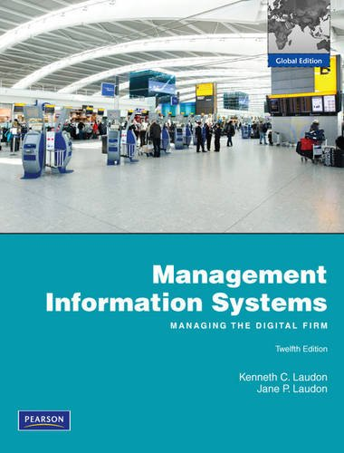 Management Information Systems: Laudon, Kenneth C.,