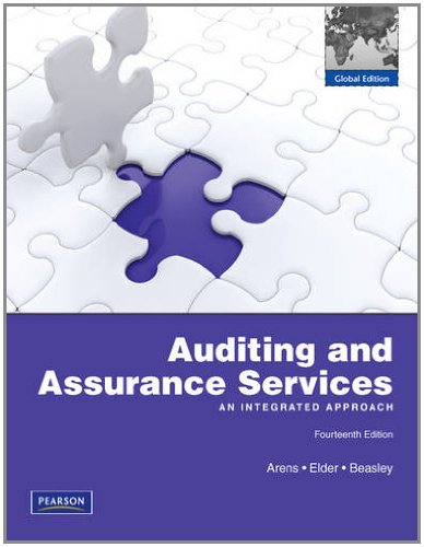 9780273754947: Auditing and Assurance Services