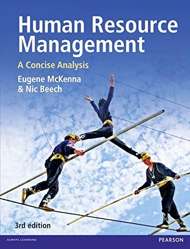 9780273755487: Human Resouce Management, 3rd ed.