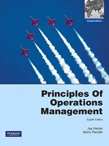 9780273755968: Principles of Operations Management: Global Edition
