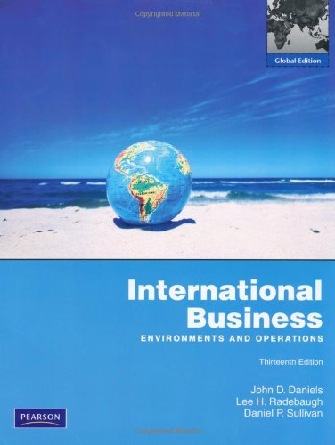 9780273756002: International Business: Global Edition: Environments and Operations