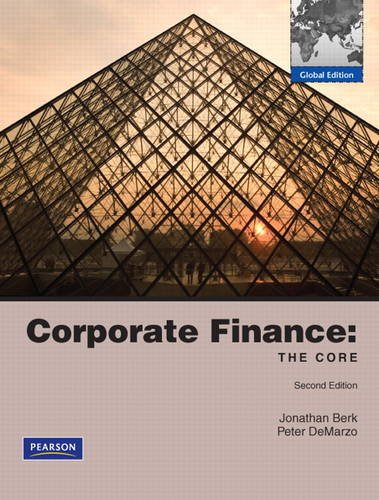 9780273756019: Corporate Finance: The Core