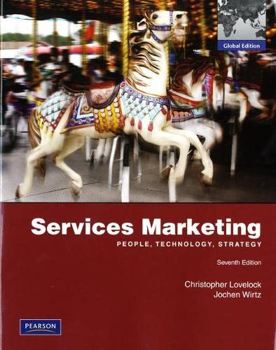 Services Marketing: Global Edition: Christopher Lovelock