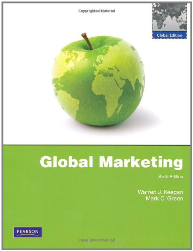 9780273756071: Global Marketing