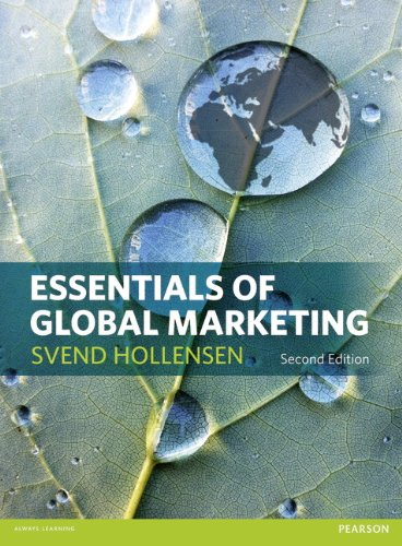 9780273756545: Essentials of Global Marketing