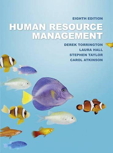 Human Resource Management: Derek Torrington, Stephen