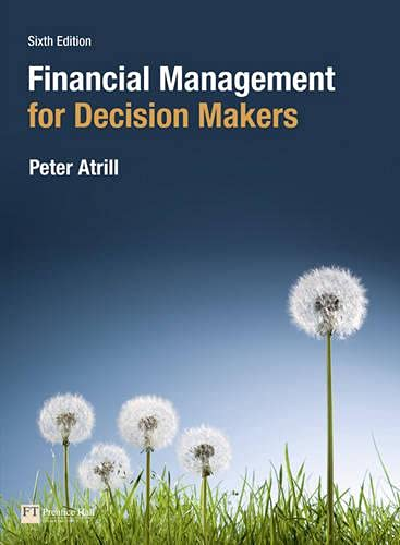 9780273756934: Financial Management for Decision Makers