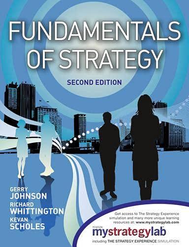 9780273757252: Fundamentals of Strategy