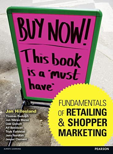 9780273757399: Fundamentals of Retailing and Shopper Marketing