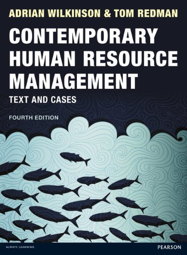 9780273757825: Contemporary Human Resource Management: Text and Cases