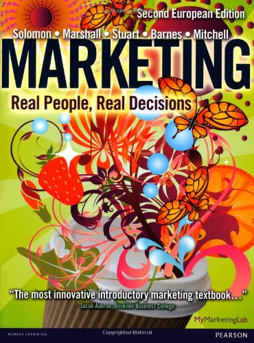 9780273758167: Marketing: Real People, Real Decisions: 2nd European Edition
