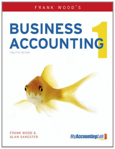 9780273759188: Frank Wood's Business Accounting Volume 1