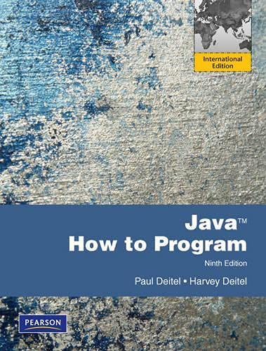 9780273759768: Java How to Program: International Version