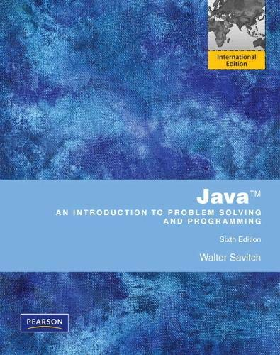 9780273760283: Java:Introduction to Problem Solving and Programming with MyProgrammingLab: International Edition