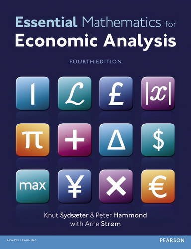 9780273760740: Essential Mathematics for Economic Analysis with MyMathLab access card